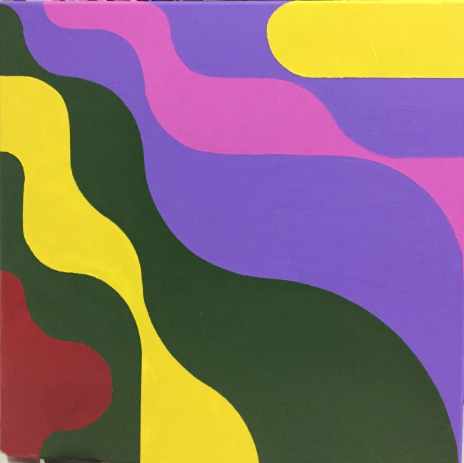 Sensual Fibonacci (Collage yellow-green)
