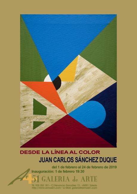 """Exposición """"Desde la línea al color"""""""
