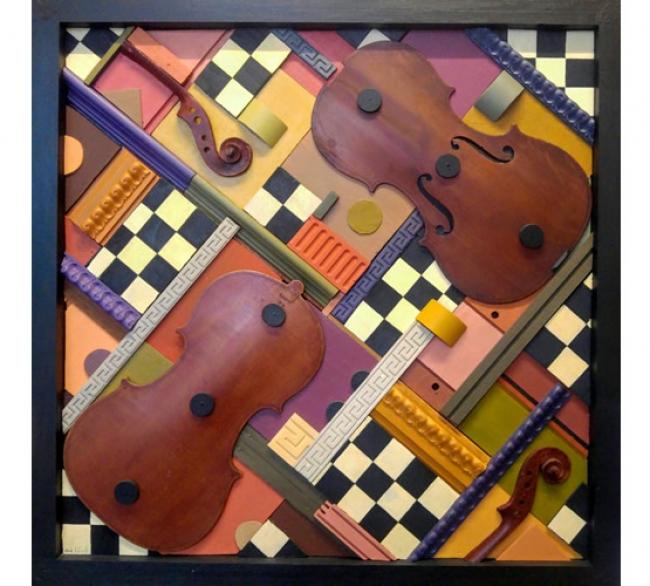Composició amb Violí - Jordi Estivill