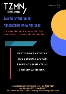 TALLER INTENSIVO DE AUTOGESTION PARA ARTISTAS