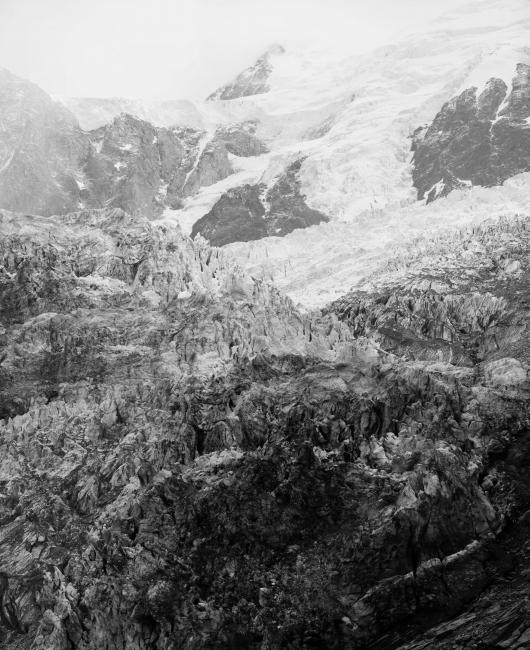 Fernando Maselli. Mont Blanc #1, 2016. Inyección de tinta sobre papel de algodón. 100 x 81 cm. Edición de 3 + 2 PA — Cortesía de la galería Rafael Pérez Hernando