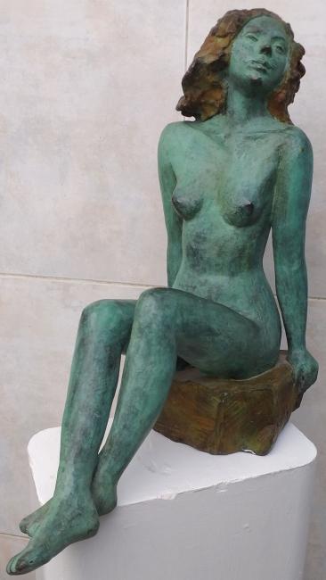 MEDALLA de Escultura JUAN CRISTOBAL, Patricia Larrea
