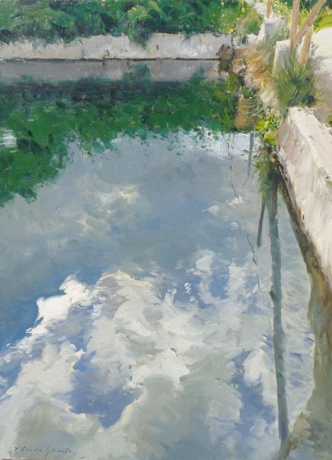 MEDALLA de Pintura JOSÉ VILLEGAS CORDERO, Jorge Cerdá Gironés