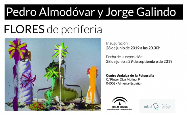 Pedro Almodóvar y Jorge Galindo. Flores de periferia