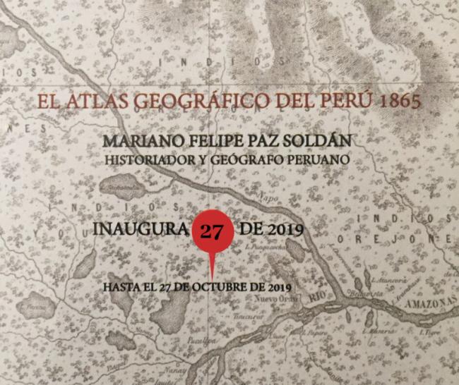 El atlas geográfico del Perú de Mariano Felipe Paz Soldán (1865)