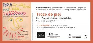Trozo de piel. Cela-Picasso, pasiones compartidas, Colección Gabarrón