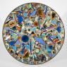 Lee Krasner. Mesa de mosaico (Mosaic Table), 1947. Mosaico y técnica mixta sobre madera. Diámetro 116,8 cm. Colección particular © The Pollock-Krasner Foundation. Cortesía de Michael Rosenfeld Gallery LLC, Nueva York. .