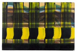 Juan Uslé, Sin lugar, 1997. Col·lecció Per Amor a l'Art © Juan Uslé / VEGAP, Valencia, 2020
