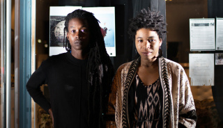 Black Quantum Futurism at Community Futures Lab (Philadelphia). Image: Kenzi Foto — Cortesía de Arts at CERN