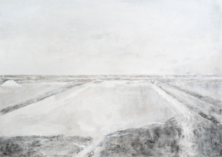 Carmen Laffón, El día, 2020, 141 x 200 cm. — Cortesía de la Galería Leandro Navarro