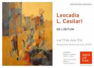 Leocadia L. Casilari, Ad libitum