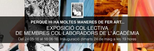Exposició Col·lectiva de Membres Col·laboradors