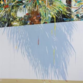 Alfonso Albacete, Sin tesis, 2011, acrílico sobre lienzo, 150 x 150 cm.