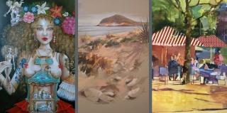 Anas. Exposición en Montsequi Galería de Arte