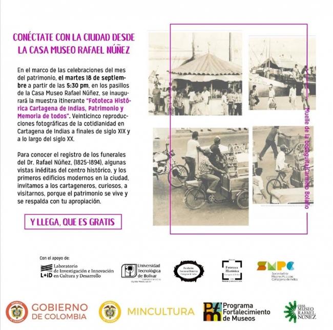 Fototeca histórica Cartagena de Indias, Patrimonio y Memoria de todos