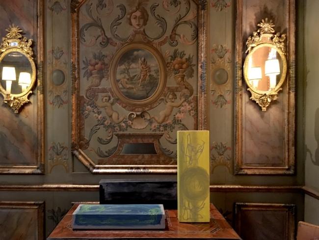 Vista nas salas da Casa Museu
