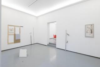 Riccardo Baruzzi. Del disegno e del deserto rosso (vista de la exposición) — Cortes de The Goma