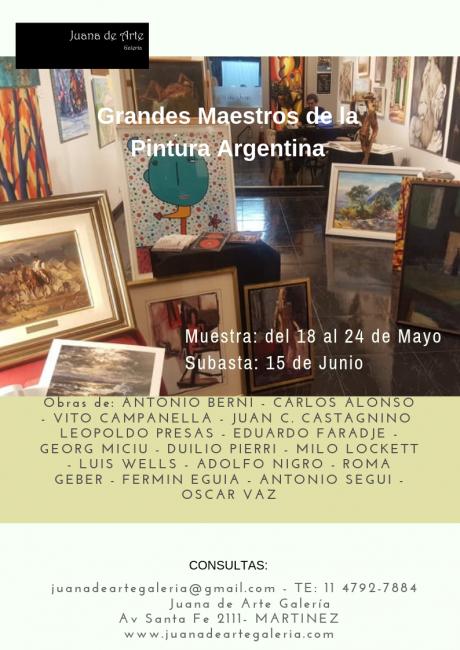 GRANDES MAESTROS DE LA PINTURA ARGENTINA