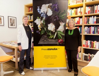 Donna Ferrato y Pilar Pequeño — Cortesía de La Fábrica