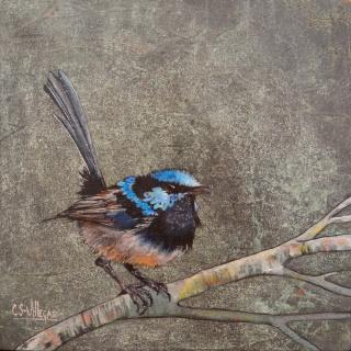 """""""Pájaro azul"""""""