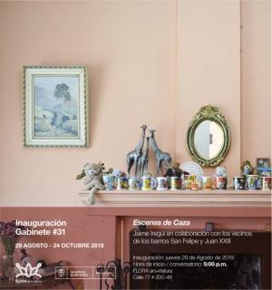 Gabinete # 31: Escenas de caza Jaime Iregui