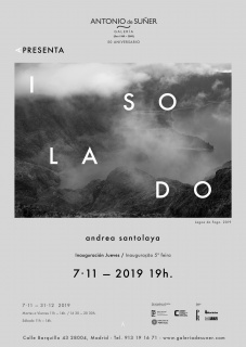 Andrea Santolaya. Isolado — Invitación