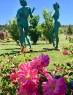"""ALMA Sculpture Park. """"Tres gracias"""" de Mer Jiménez"""