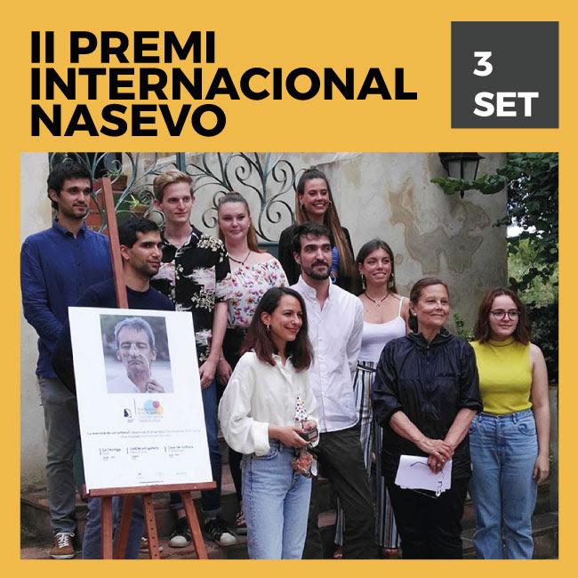 II Premio Internacional NASEVO: La esencia de un artista