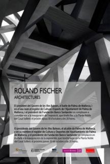 Roland Fischer, Architectures