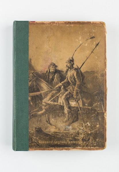 [Don Quijote de la Mancha], traducción al húngaro del Quijote del traductor Györy Vilmos. Budapest, Légrády testvérek, 1875. Foto: Instituto Cervantes (Juanjo del Río)