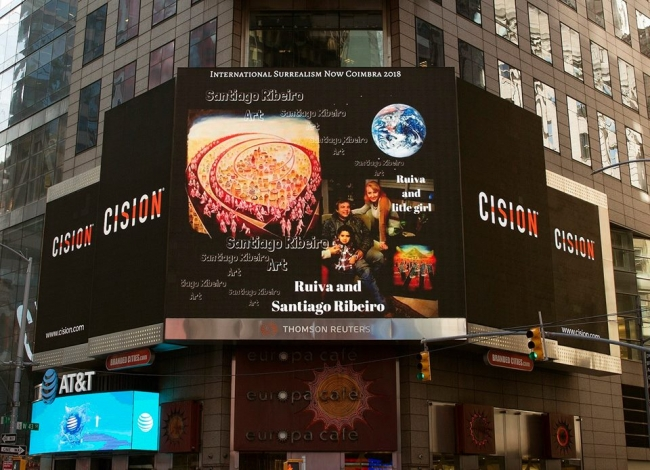 Times Square Surrealism Now