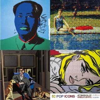 50 iconos del Pop. Imagen cortesía Art Marbella