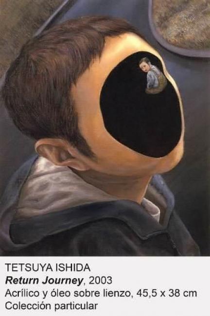 Tetsuya Ishida, Return Journey, 2003. Acrílico y óleo sobre lienzo, 45'5x38 cm. Colección particular — Cortesía del Museo Nacional Centro de Arte Reina Sofía (MNCARS)