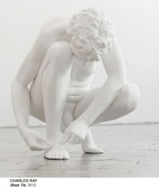 Charles Ray, Shoe Tie, 2012 — Cortesía del Museo Nacional Centro de Arte Reina Sofía