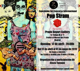 Exposición Concurso Pop Stram - Prado Goyart Gallery