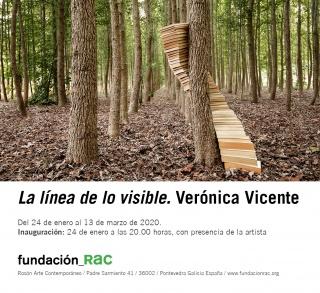 Verónica Vicente. La línea de lo visible