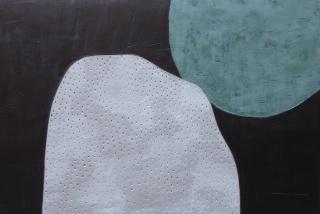 """""""Relació"""" 80x120 cm Cemento y acrílico sobre madera"""