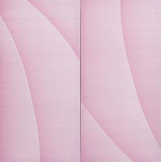 Irma Blank, Radical Writings, Rosa geatmet, Rosa geschrieben, 1987. © Irma Blank /  Col.lecció Per Amor a l'Art