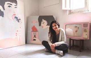 Retrato de Cris Valencia — Cortesía de la artista