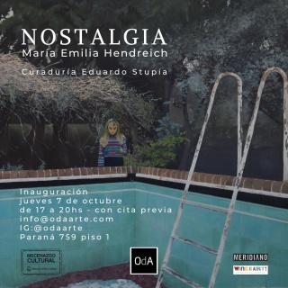 NOSTALGIA flyer