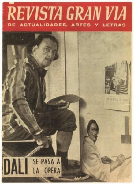 Revista Gran Via de Actualidades, Artes y Letras, 20/08/1960. Image Rights of Salvador Dalí reserved. Fundació Gala-Salvador Dalí, Figueres, 2014