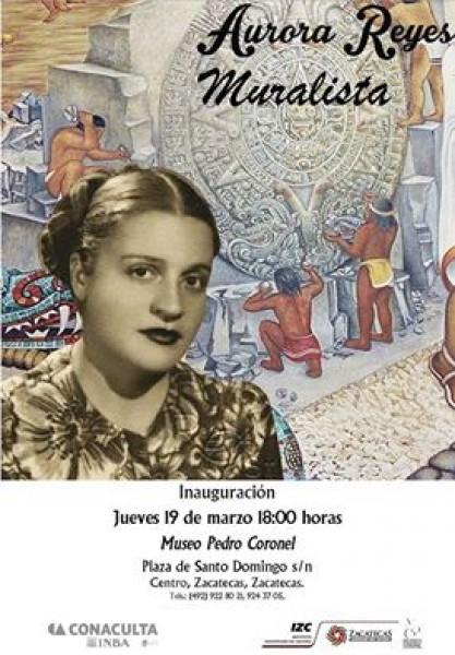 Aurora Reyes. Muralista