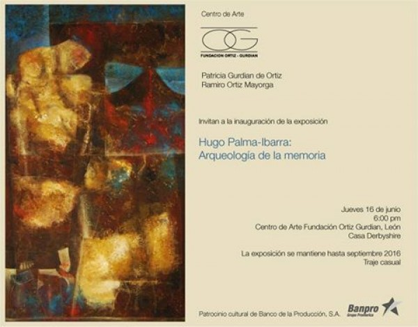 Hugo Palma-Ibarra: Arqueología de la memoria