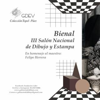 Bienal III Salón Nacional de Dibujo y Estampa en el Gabinete del Dibujo y de la Estampa de Valencia
