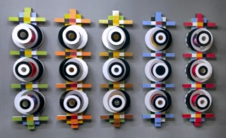 Obra Multiverso do artista Robson Macedo