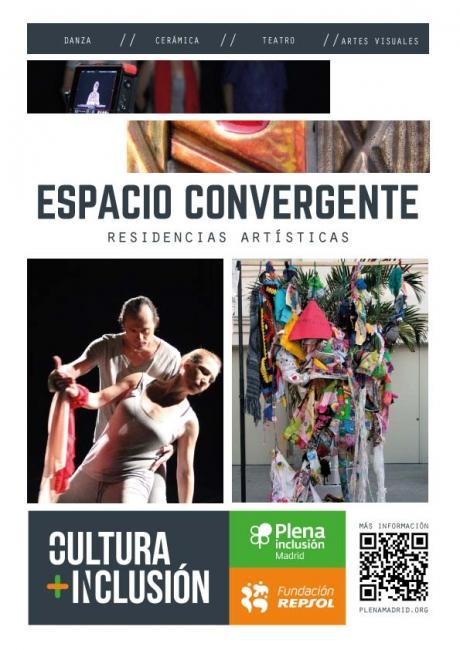 II Programa Anual de Residencias de Artistas y Creadores Espacio Convergente.