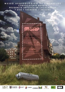 Cartel de MSAP [Marca Street Art Project]