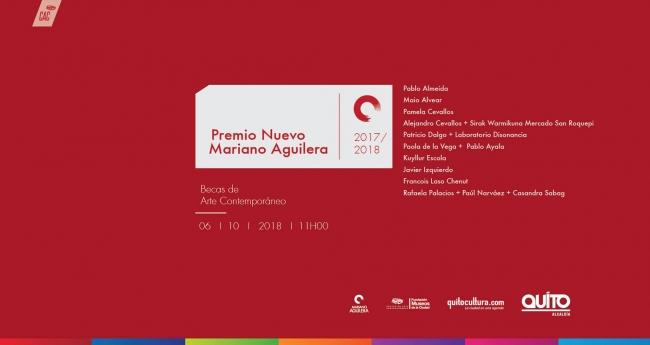 Premio Nuevo Mariano Aguilera, 2017-2018