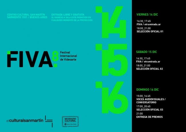 8ª edición FIVA, Festival Internacional de Videoarte. Imagen cortesía FIVA Festival