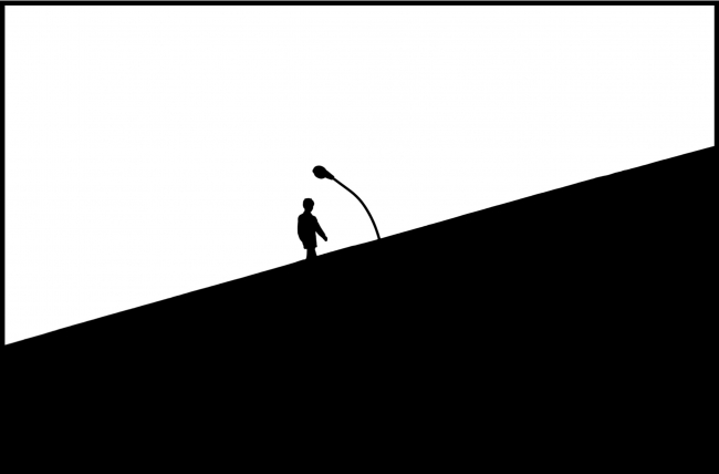 Mario Díaz. Blanco y negro,1988 © Mario Díaz — Cortesía de PHotoEspaña